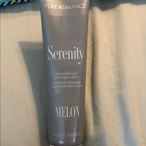 Serenity aromatherapy massage lotion